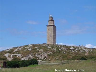 Torre de H�rcules, La Coru�a - La Coru�a, La Coru�a, Galicia