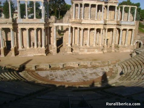 Teatro Romano de Mérida. Mérida, Badajoz - Mérida, Badajoz, Extremadura