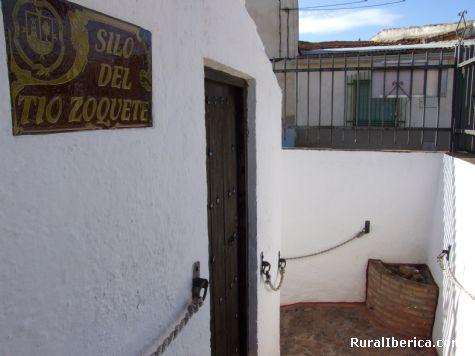 Entrada del Silo - Madridejos, Toledo, Castilla la Mancha