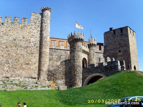 Castillo de los templarios (Ponferrada) - Ponferrada, León, Castilla y León