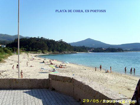 Playa de Coira en Portosin - Portosin, La Coruña, Galicia