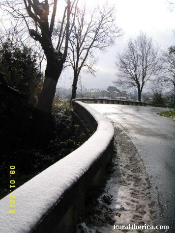 Malpica desde el mirador de San Adri�n del Valle - Malpica, La Coru�a, Galicia