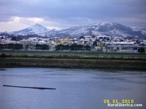 Nieve 2010. Hondarribia, Guipúzcoa - Hondarribia, Guipúzcoa, País Vasco