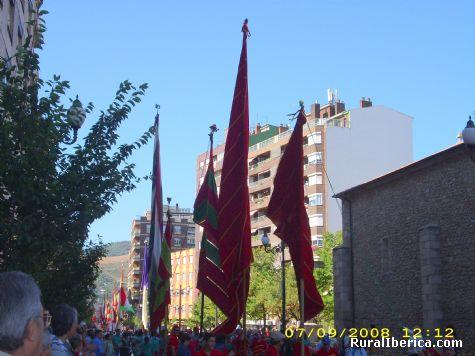 Desfile de Pendones en el centenario de la ciudad - Ponferrada, Le�n, Castilla y Le�n