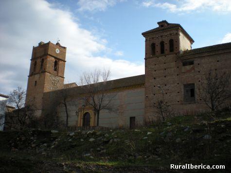 Palacio de Boabdil e Iglesia de la Encarnacion siglo XVI - Fuente Victoria, Almería, Andalucía