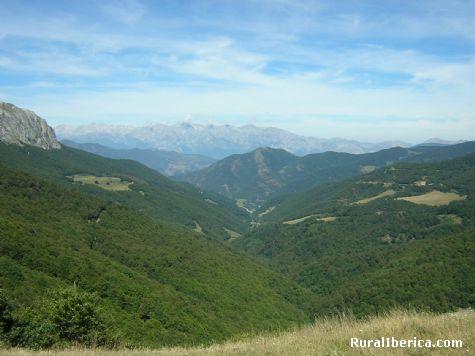 Vista de los Picos de Europa desde Piedrasluengas - Puerto de Piedrasluengas, Palencia, Castilla y León
