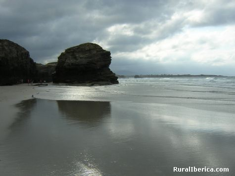 Espejo de calma. Praia das Catedrais. Ribadeo - Praia das Catedrais. Ribadeo, Lugo, Galicia