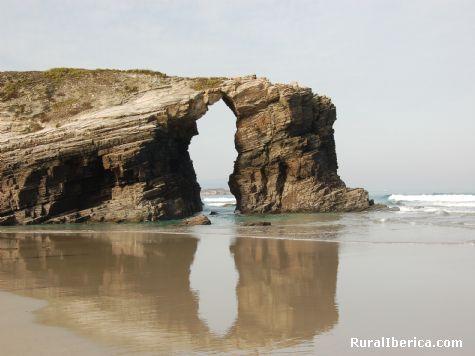 Playa de las Catedrales - Costa Lucense - Ourense, Orense, Galicia