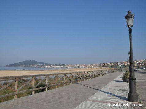 Paseo playa america - Nigran, Pontevedra, Galicia