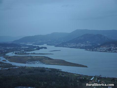 Donde termiña o Rio miño  - A Guarda, Pontevedra, Galicia