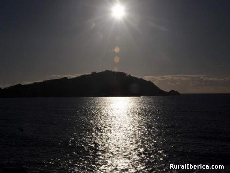 Posta do sol ria de vigo - Vigo, Pontevedra, Galicia