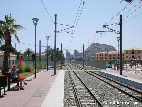 El Tram de Alicante. Alicante, Comunidad Valenciana - Alicante, Alicante, Comunidad Valenciana