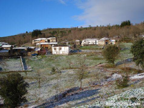 Neve nas Enciñeiras - Enciñeiras, Lugo, Galicia