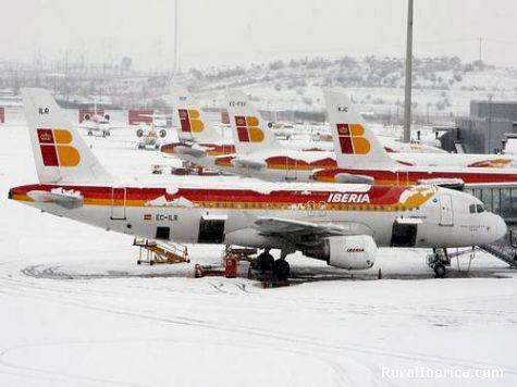 Neve en Baraxas - Madrid, Madrid, Madrid