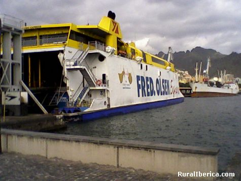 Muelle Santa Cruz de Tenerife, Islas Canarias - Tenerife, Santa Cruz de Tenerife, Islas Canarias