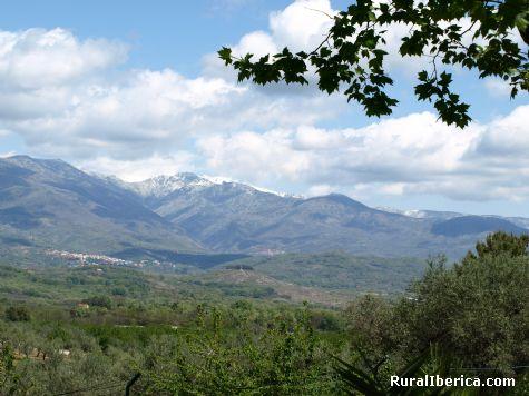Gredos desde Jaráiz. Jaraíz de la Vera, Cáceres - Jaraíz de la Vera, Cáceres, Extremadura