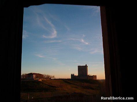 Castillo. Tiedra, Valladolid - Tiedra, Valladolid, Castilla y León
