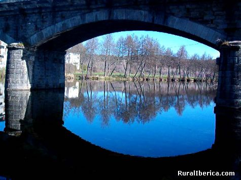 Puente. Puebla de Sanabria, Zamora - Puebla de Sanabria, Zamora, Castilla y Le�n
