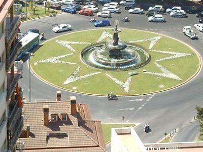 fuente de las tres gracias - malaga, Málaga, Andalucía