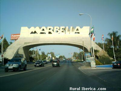 Arco Marbella. Málaga - Marbella, Málaga, Andalucía