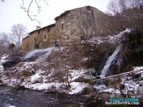 Molino de Alberto desde el Corneja. Villafranca de la Sierra, Ávila - Villafranca de la Sierra, Ávila, Castilla y León