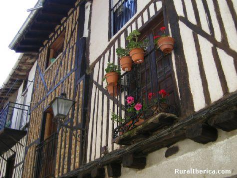 Fachada típica de La Alberca - La Alberca, Salamanca, Castilla y León