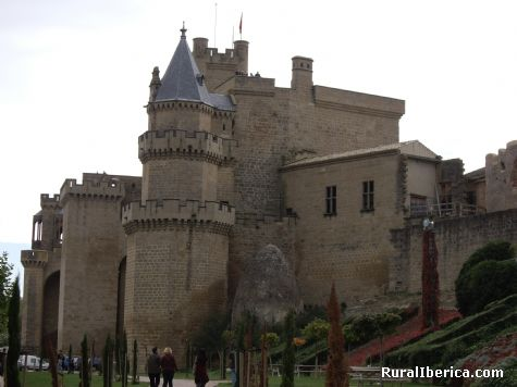 Castillo de Olite. Olite, Navarra - Olite, Navarra, Navarra