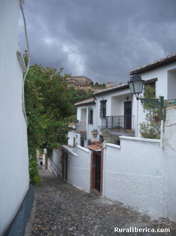 Subiendo a San Nikolas. Granada, Andalucía - Granada, Granada, Andalucía