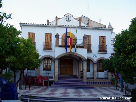 Fachada del Ayuntamiento de Ardales, Málaga - Ardales, Málaga, Andalucía