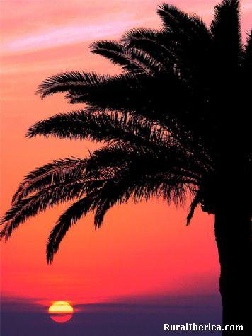 Amanecer en el paseo marítimo. Melilla - Melilla, Melilla, Melilla