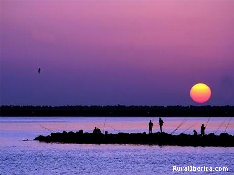 Pescadores en la alborada. Melilla - Melilla, Melilla, Melilla