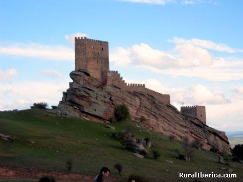 Castillo de Zafra en el Señorío de Molina - Hombrados, Guadalajara, Castilla la Mancha