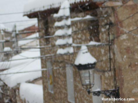 nieve - royuela, Teruel, Aragón