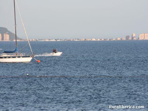 Mar Menor, La Manga desde Los Alcazares - Los Alcazares, Murcia, Murcia