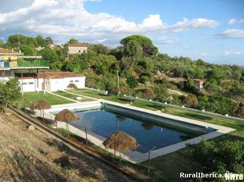 La piscina municipal. Valverde de la Vera, Cáceres - Valverde de la Vera, Cáceres, Extremadura
