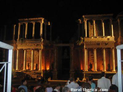 Teatro Romano de M�rida. Badajoz - M�rida, Badajoz, Extremadura
