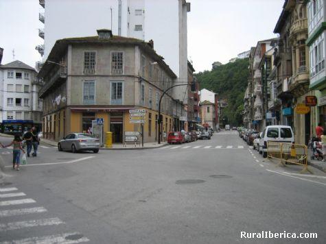 Avenida de Galicia. Luarca, Asturias - Luarca, Asturias, Asturias