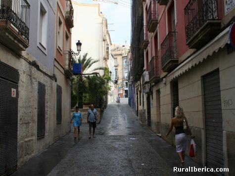 Calle Padre Maltes - Alicante, Alicante, Comunidad Valenciana