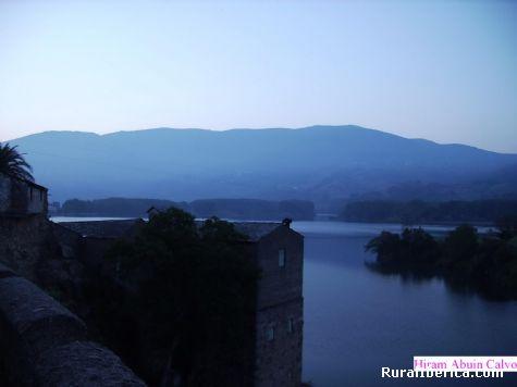 La Molinera vista desde el puente - Petín, Orense, Galicia