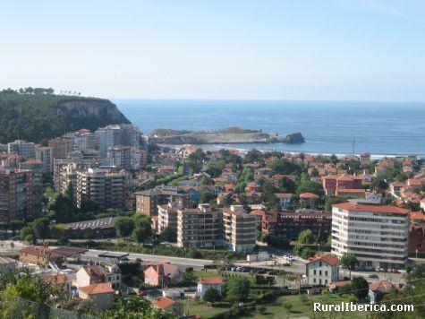 Vista desde Coto Carcedo. Salinas-Castrillon, Asturias - Salinas-Castrillon, Asturias, Asturias