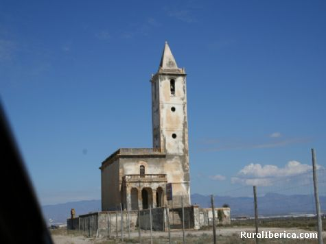 Iglesia de las Salinas  - Cabo de Gata, Almer�a, Andaluc�a