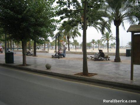 Paseo El Arenal. El Arenal, Baleares - El Arenal, Baleares, Islas Baleares