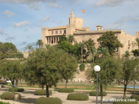 Palacio de la Almudaina. Palma de Mallorca, Baleares - Palma de Mallorca, Baleares, Islas Baleares