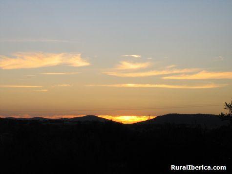 Puesta de Sol. Torrequemada, C�ceres - Torrequemada, C�ceres, Extremadura