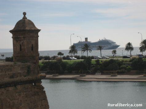 Parque de la Mar. Palma de Mallorca, Baleares - Palma de Mallorca, Baleares, Islas Baleares