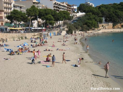 Playa de Portocristo. Portocristo, Baleares - Portocristo, Baleares, Islas Baleares