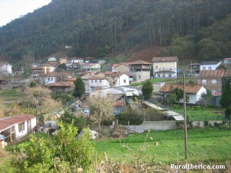 Vista general. Peñaullan-Pravia, Asturias - Peñaullan-Pravia, Asturias, Asturias