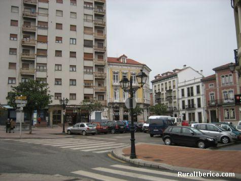 Plaza Conde Guadalhorce. Pravia, Asturias - Pravia, Asturias, Asturias