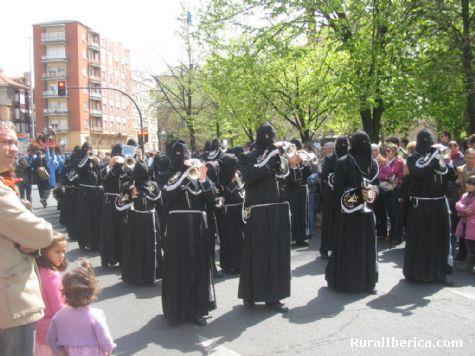 banda de cornetas de la cofradia del Cristo del Gran Poder, LEON - leon, León, Castilla y León