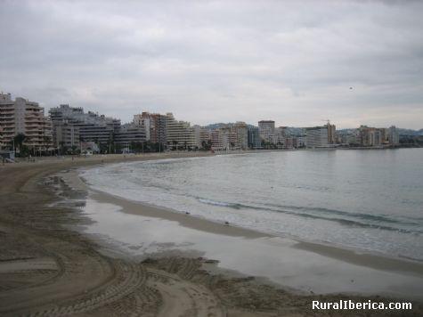 Playa La Fossa. Calpe, Alicante - Calpe, Alicante, Comunidad Valenciana